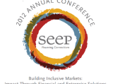 The 2012 SEEP Annual Conference