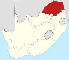 Limpopo Province highlighted in red